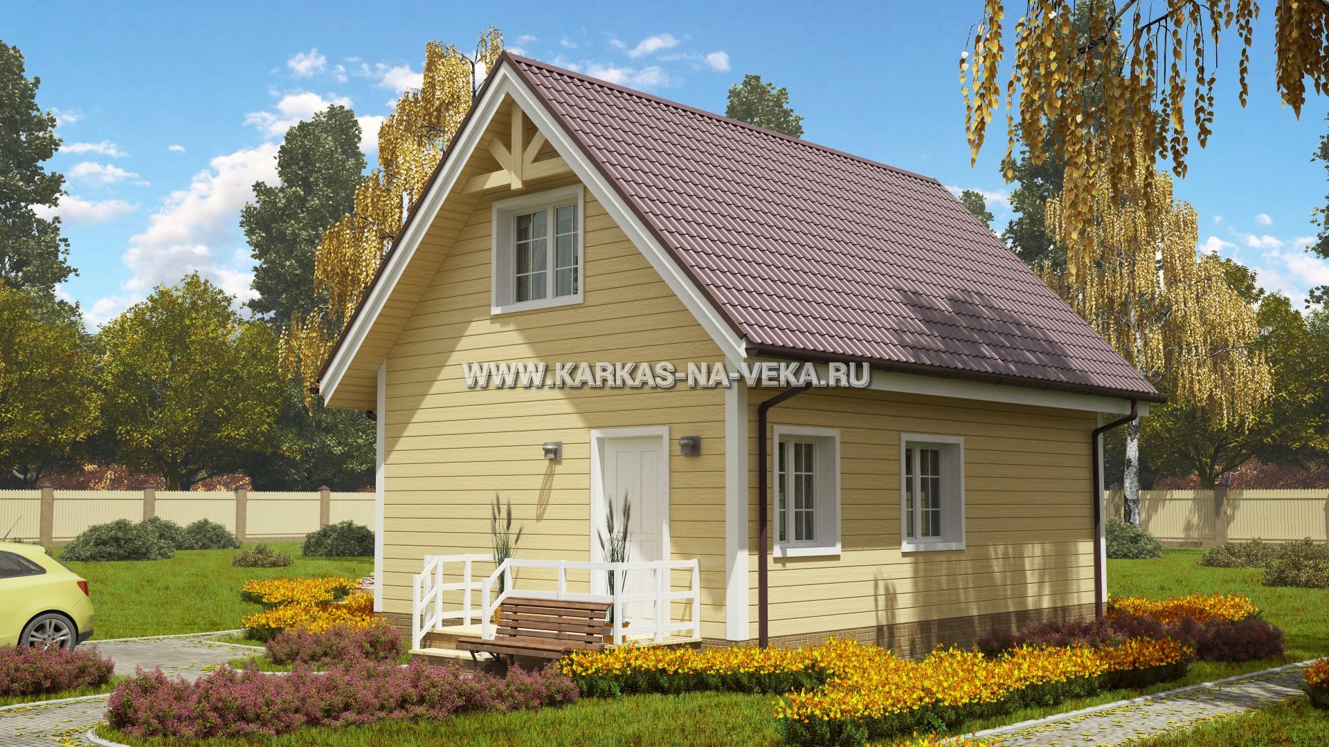 Строительство коттеджей в Красноярске под ключ - цены